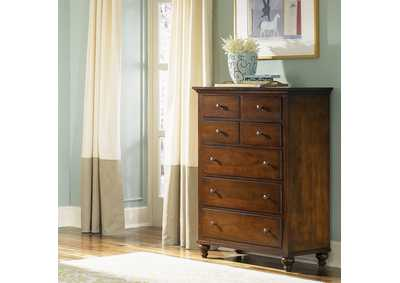 Hamilton Cinnamon 5 Drawer Chest