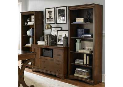 Brookview Cherry Open Bookcase (RTA)