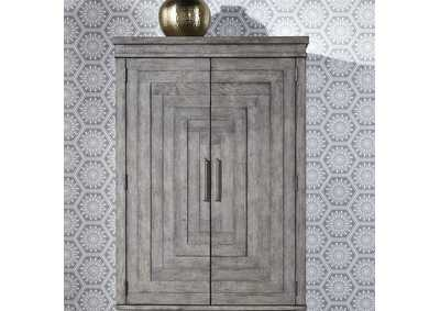 Image for Modern Farmhouse Dusty Charcoal Armoire Top