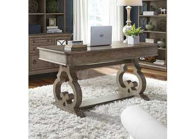 Simply Elegant Taupe Writing Desk