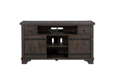 Aspen Skies Brown TV Console