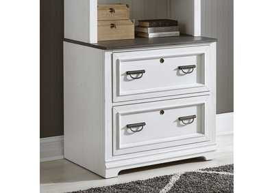 Image for Allyson Park White Bunching Lateral File Cabinet