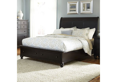 Image for Hamilton III Queen Sleigh Storage Bed