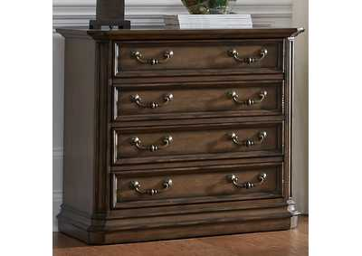 Amelia Toffee Lateral File Cabinet