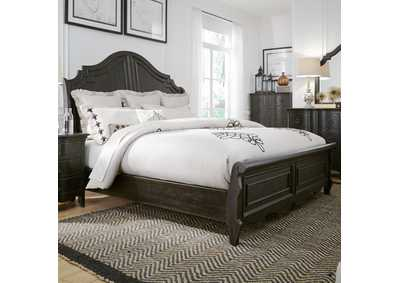 Image for Chesapeake Black Queen Sleigh Bed