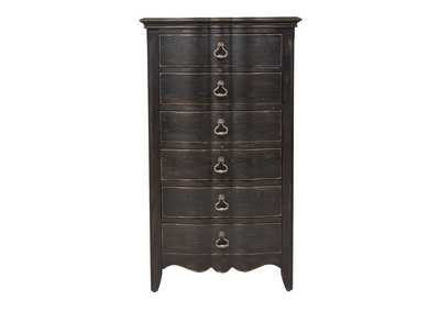 Chesapeake Antique Black Lingerie Chest