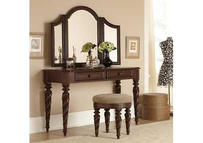Image for Arbor Place Brown Vanity Desk