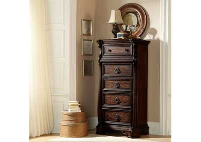 Arbor Place Brown Lingerie Chest