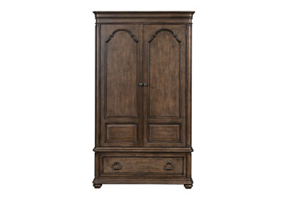 Parisian Marketplace Brown Armoire