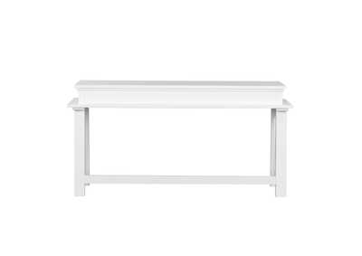 Summer House White Console Bar Table