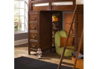 Image for Chelsea Square Youth Loft Bed Chest