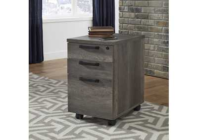 Tanners Creek Gray File Cabinet