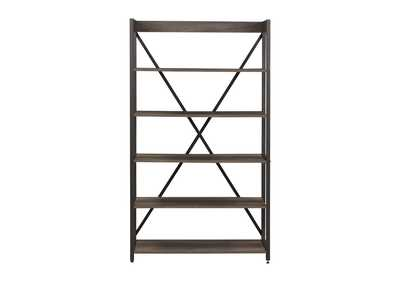 Tanners Creek Gray Bookcase