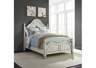 Image for Parisian Marketplace White King Poster Bed