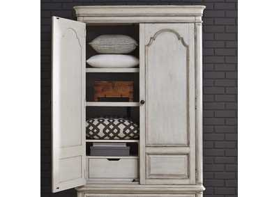 Image for Parisian Marketplace White Armoire Top