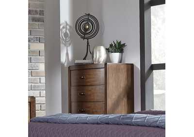 Image for Avalon Pebble Brown 5 Drawer Chest