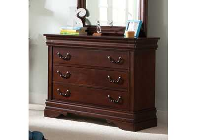 Carriage Court Youth Single 3 Drawer Dresser