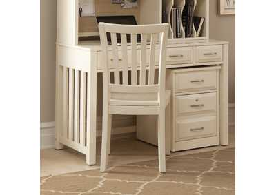 Hampton Bay White Writing Desk