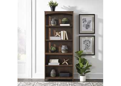 Hampton Bay Cherry Open Bookcase