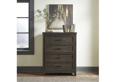 Thornwood Hills Rock Gray 4 Drawer Chest