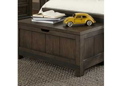 Thornwood Hills Rock Gray Toy Chest Bench