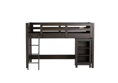 Thornwood Hills Gray Twin Loft Bed