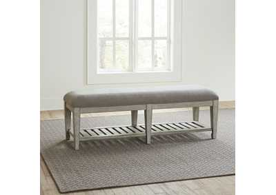 Image for Heartland Antique White Bed Bench