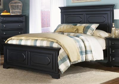 Carrington II Queen Panel Bed
