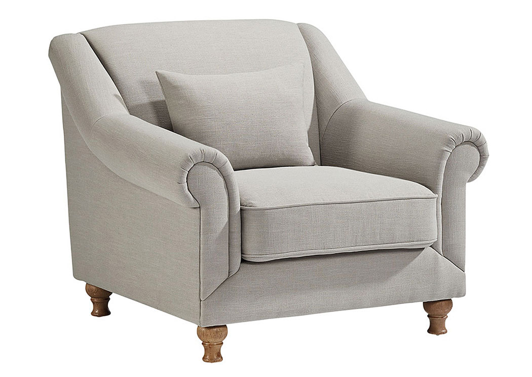 Furniture & More Galleries Rose Hill Chair, w/1 Square ...