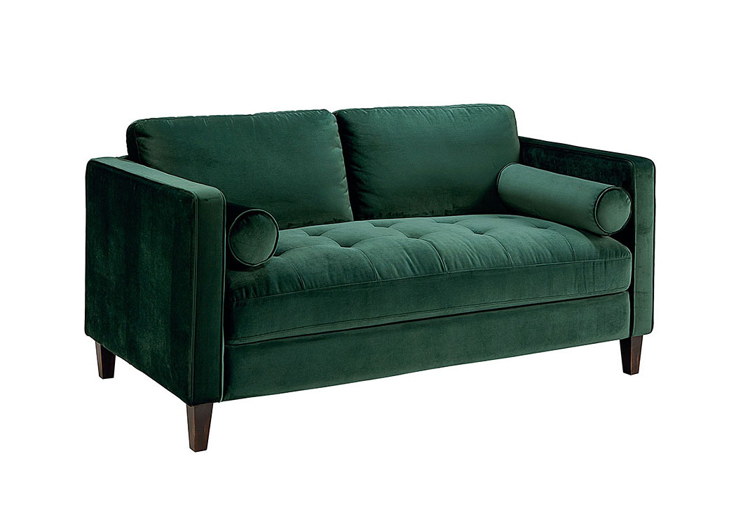Dapper Emerald Loveseat,Magnolia Home