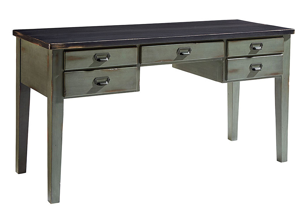 Desk, Library Table - Chimney/Patina,Magnolia Home