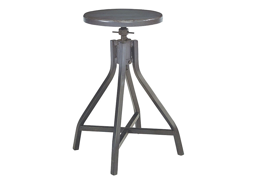 Swivel Stool, French Grey Finish (Set of 2),Magnolia Home