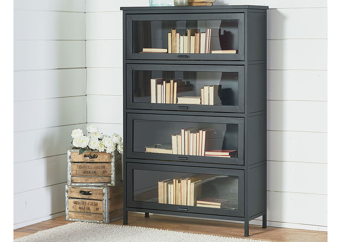 Furniture Express Hawaii Barrister Carbon Bookcase