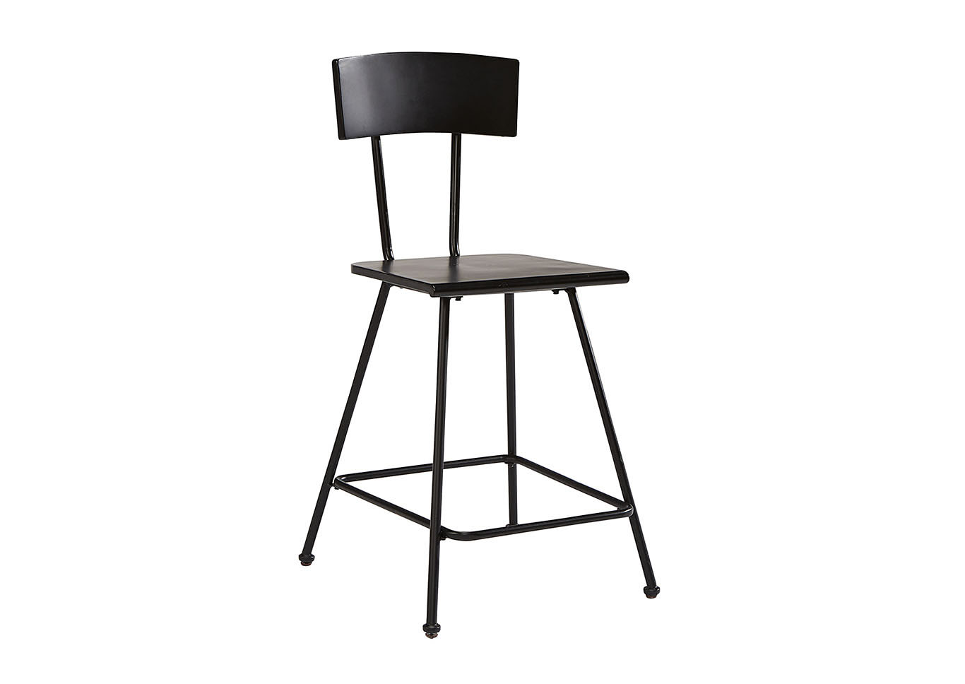 Marston Carbon Counter Height Stool (Set of 2),Magnolia Home