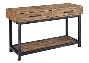 Pier & Beam Console Table, Salvage Finish