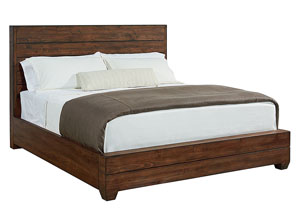 Framework Queen Bed, Milk Crate Finish