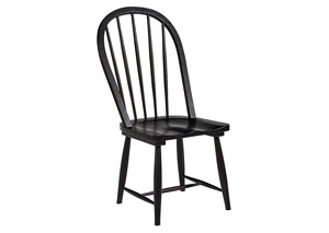 Windsor Hoop Chair, Jo's Black Finish  (Set of 2)