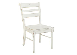 Kempton Side Chair, Jo's White Finish (Set of 2)