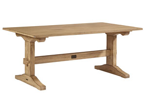 Kindred Wheat Trestle Table