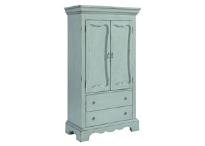 Cameo Armoire, French Blue