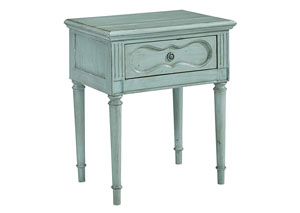 Cameo French Blue Night Table