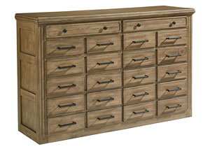 General Store 8-Drawer Sideboard/Dresser, Salvage Finish