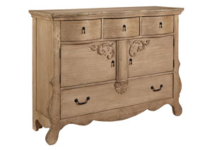 Golden Era Sideboard/Chest, Wheat Finish