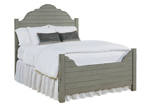 Shiplap Dove Grey King Bed