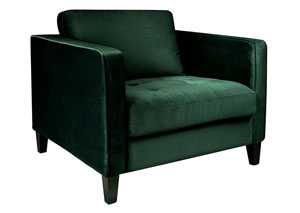 Dapper Emerald Chair