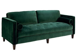 Dapper Emerald Sofa