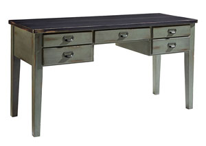 Desk, Library Table - Chimney/Patina