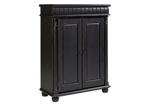 Cooper Door Chest, Chimney Finish