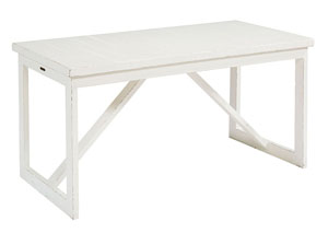 Dansby Jo's White Drawing Table