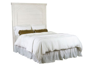 Passage King Headboard, Jo's White Finish